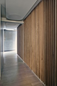 Oak Walls, Wood Flooring, Warehouse Style Apartment in ...