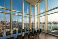 Dining Room, Amazing River Views, Apartment in Manhattan