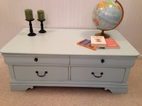 Broyhill 4-drawer coffee table - Fresh Vintage NC