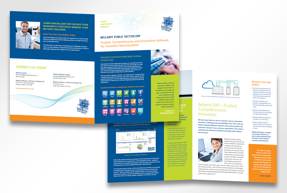 Freshwater-Creative » Bellamy Software Brochure