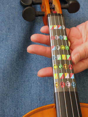 Learn how to play violin with Fretless Finger Guides™