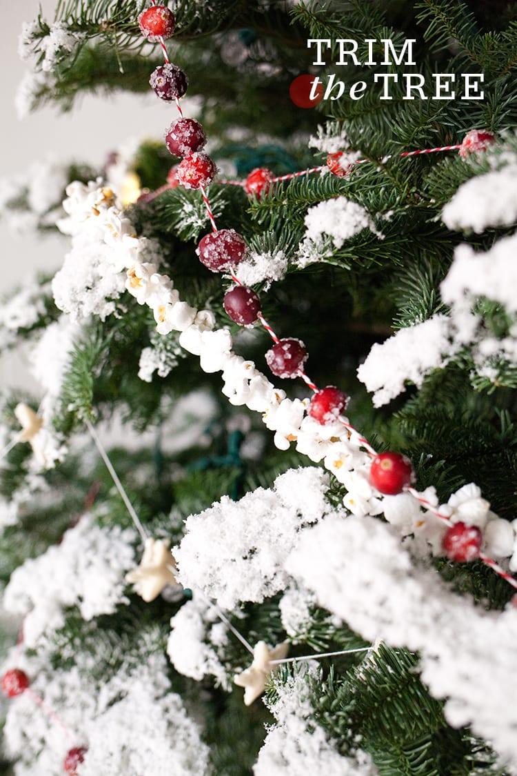 Four Homemade Garlands For Your Christmas Tree Freutcake