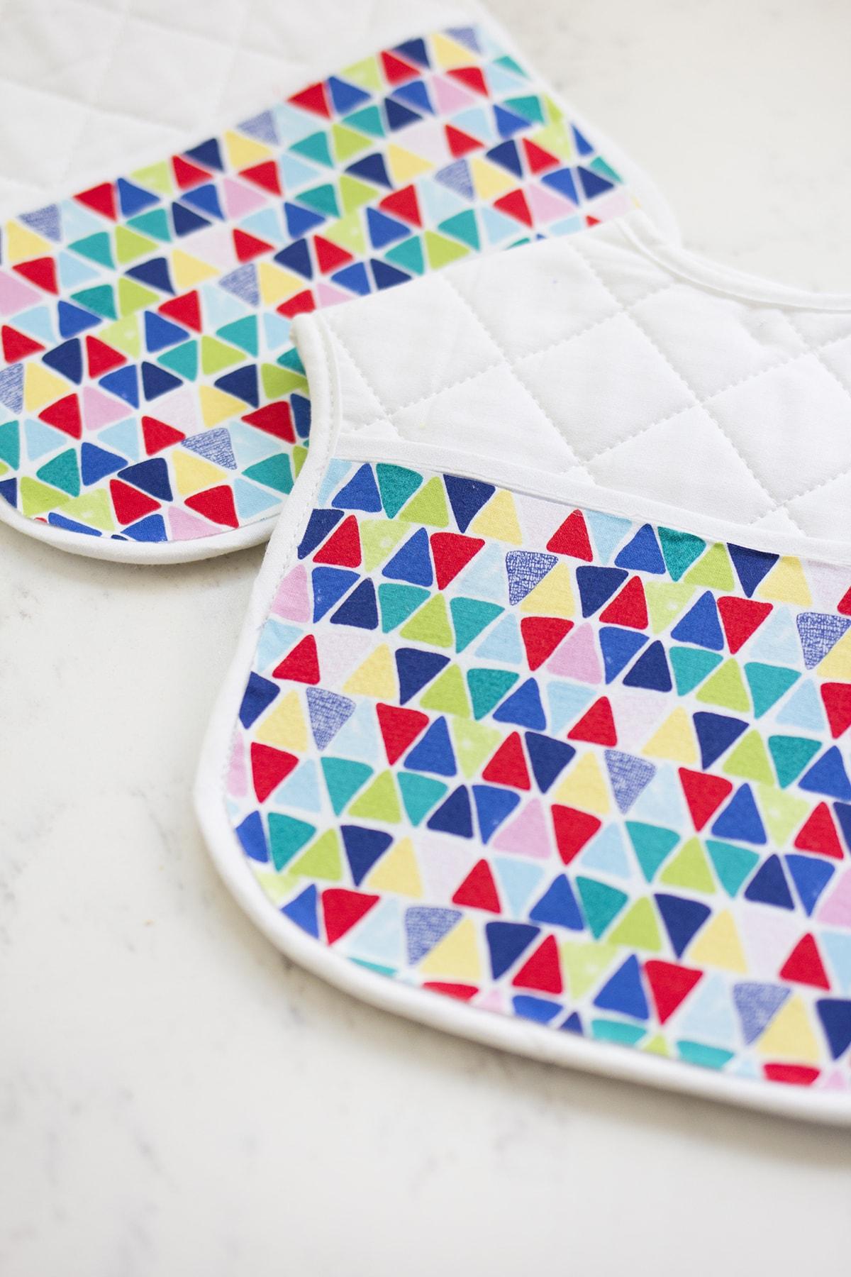 DIY Fun Fabric Bibs