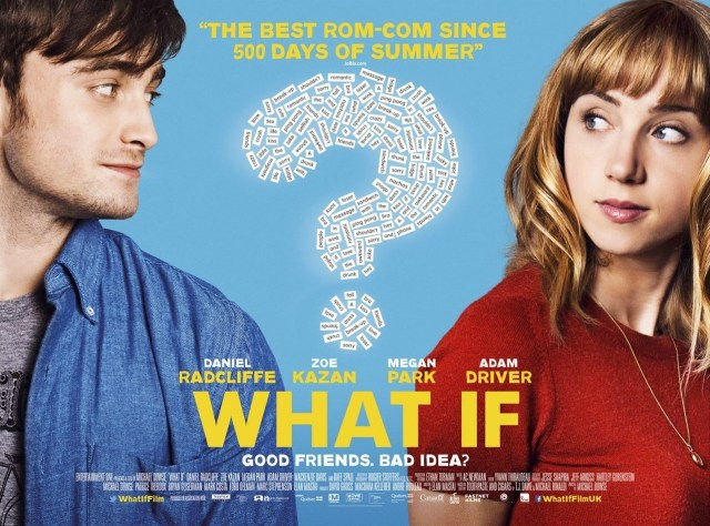 what if movie poster, daniel radcliffe, zoe karzan