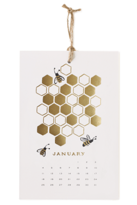 rifle paper co. honey bee calender