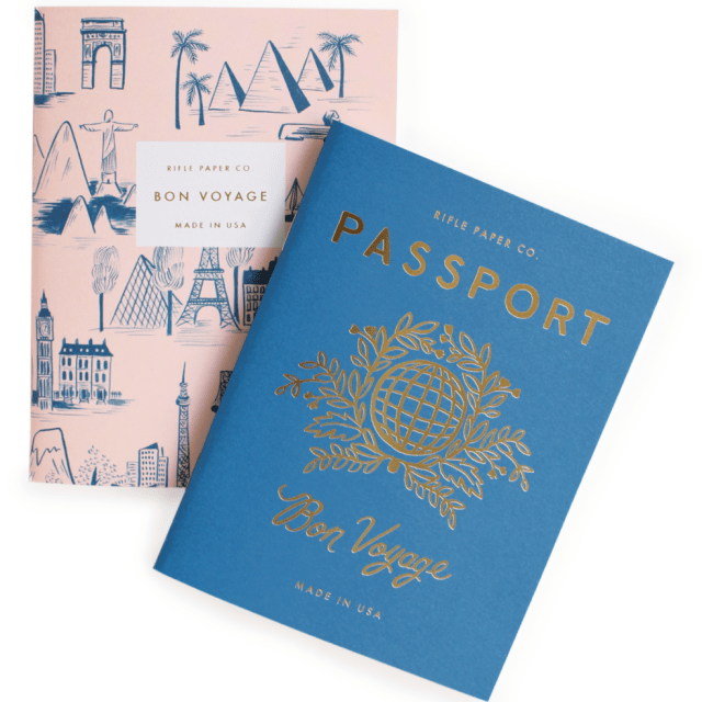 rifle paper co. travel notebook set