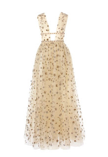starry valentino dress