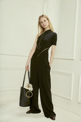 Stella McCartney Pre-Fall 2016 ring bag jumpsuit