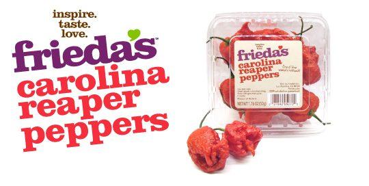 Carolina Reaper Peppers Frieda\u0027s Inc \u2013 The Specialty Produce Company