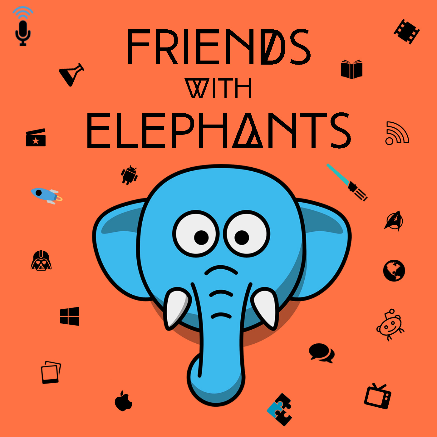 Friends with Elephants
