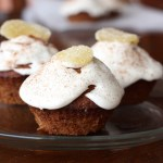 Persimmon Spice Amish Friendship Bread Cupcakes