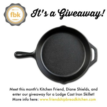 September 2016 Kitchen Friend + Giveaway