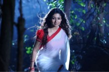 Nayanthara South Indian Actress Latest Photos in White Saree