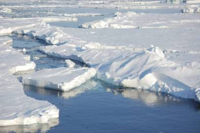 Study ties human actions to specific Arctic ice melt