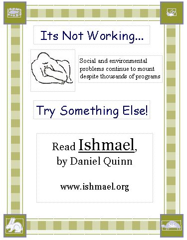 The Friends Of Ishmael Society Flyers  Pamphlets