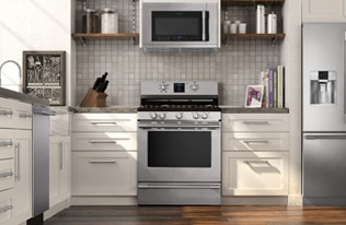 Microwaves Countertop Built In Over The Range By