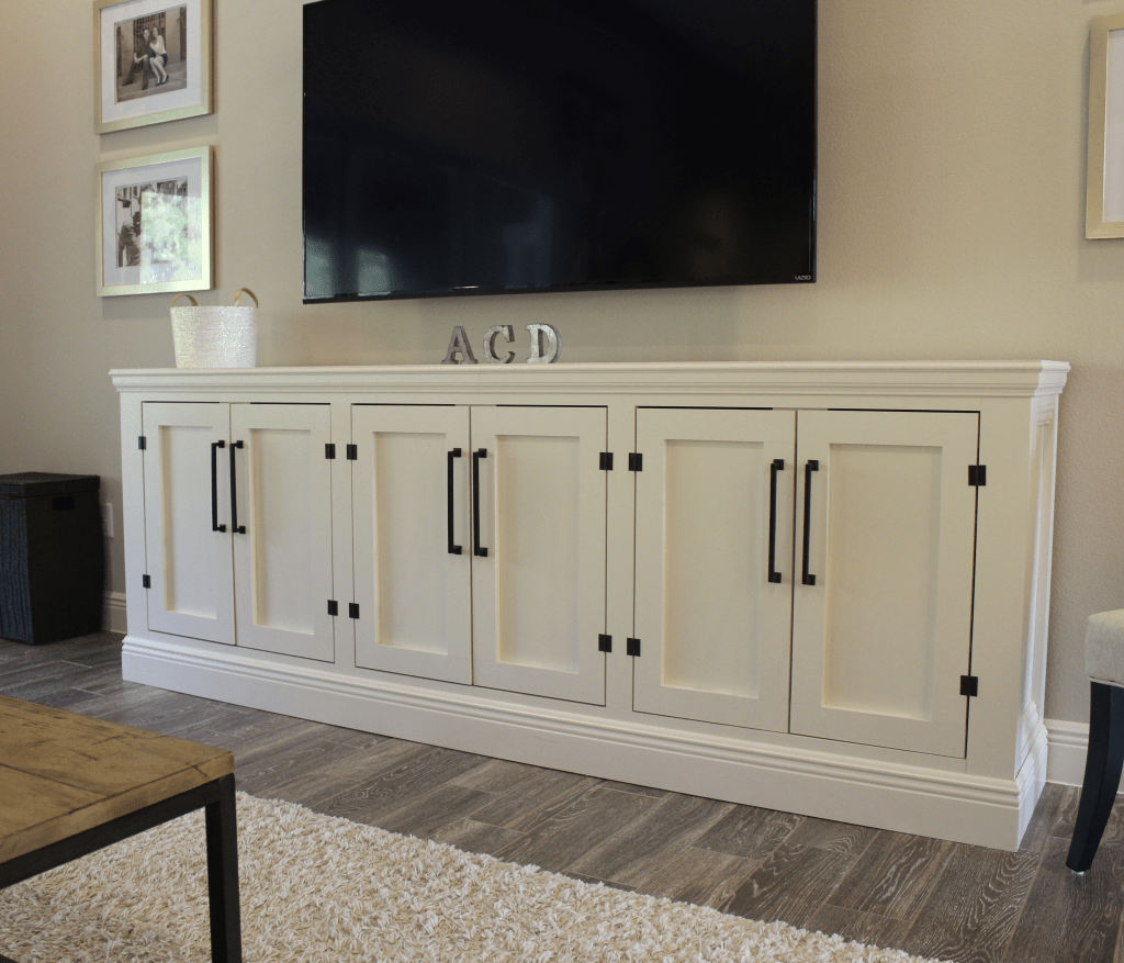 DIY Restoration Hardware Sideboard/TV Stand