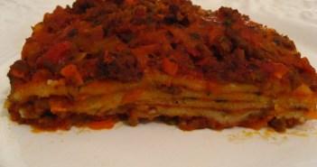 Lasagne, gluten- og laktosefri