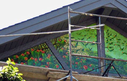 mural house in san francisco