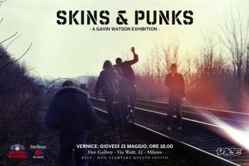 Skins & Punks @ Vice Gallery