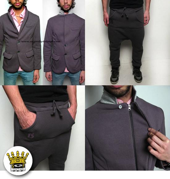 Scelto da Superfly Deluxe: giacca + pantaloni in felpa Byg Bang