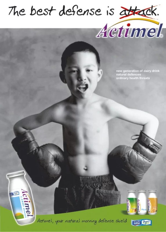 ASD Mag01 572x800 The best defense is... Actimel
