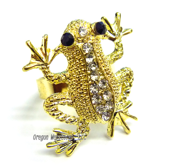 Frog Store Frog rings and frog body jewelry, sterling silver and - frog body
