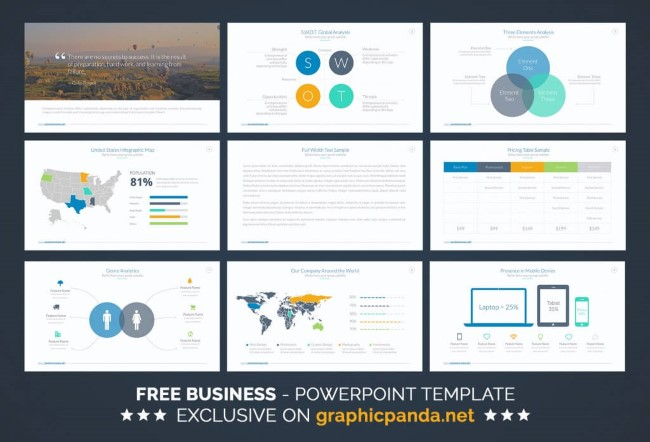 8 Templates PowerPoint gratis para hacer presentacion - Frogx Three