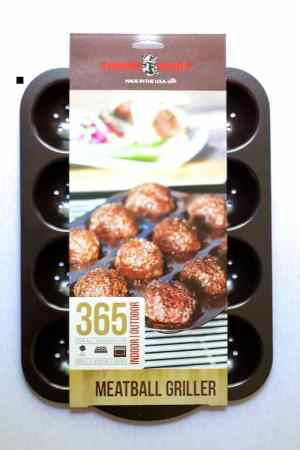 Asian Barbecue Chicken Meatballs - From A Chef's Kitchen