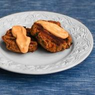 Alder Wood Smoked Salmon Patties with Sriracha Mayonnaise for Man Food Mondays