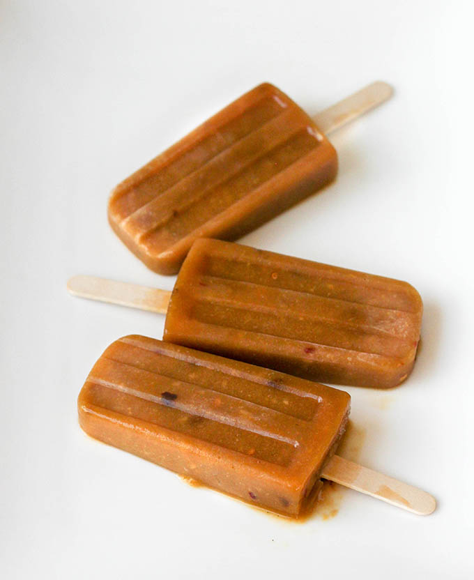 Purely Pops Cookbook:  Mango Chile Pops  #purelypops