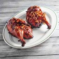 Bourbon Praline Grilled Chicken for Man Food Mondays