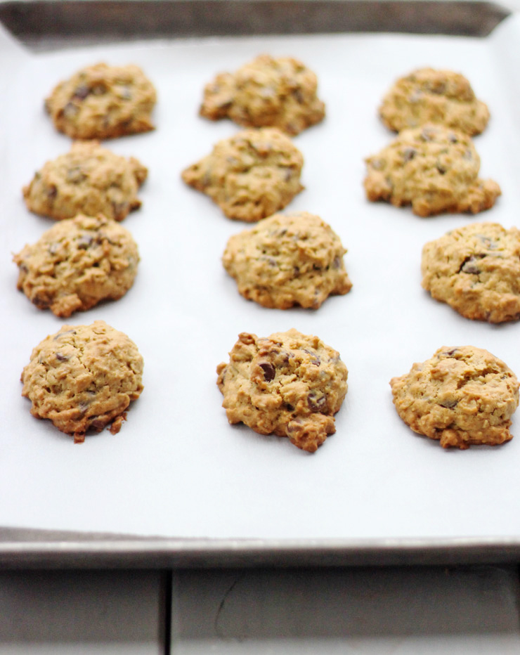 Irish Cream Oatmeal Chocolate Chip Cookies for #fillthecookiejar ...