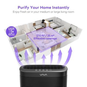 purify your home within 10 minutes