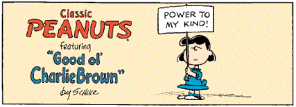 Lucy power to my kind.