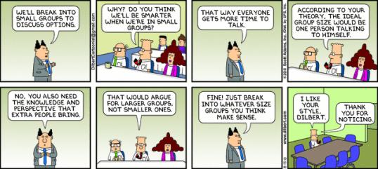 Dilbert debate