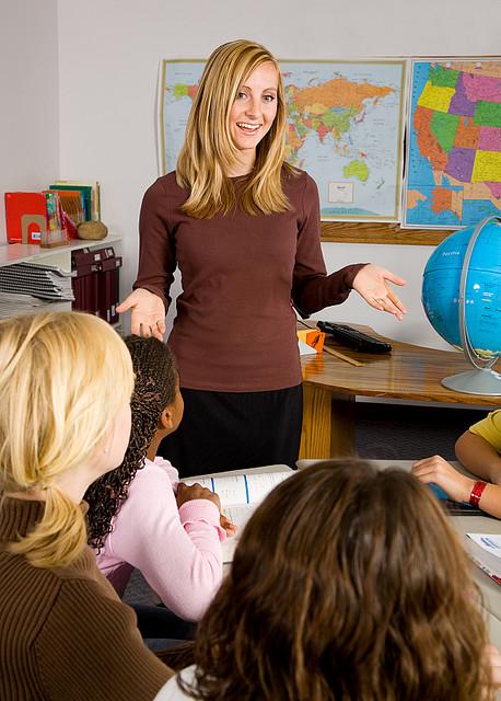teacher mature the