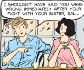 Sally Forth 9