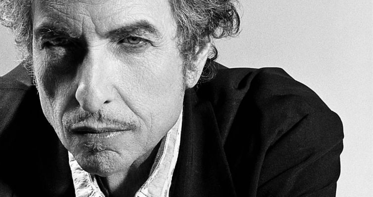 bob dylan black and white