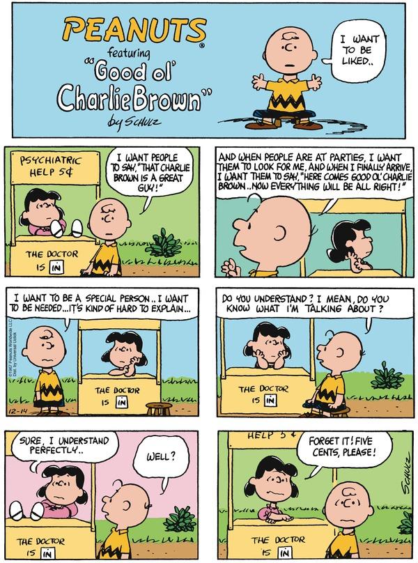 Talk Comic strip on respect