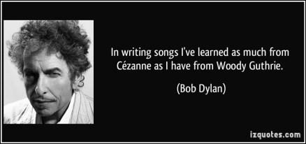 Bob Dylan on Guthrie