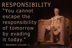 Responsibility-Lincoln