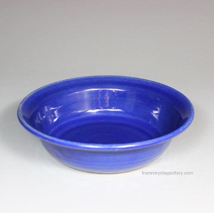 Handmade Pottery Pasta or Salad Bowl by From Miry Clay Pottery