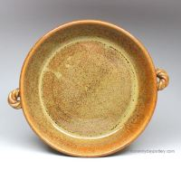 """Handmade Pottery 9"""" Pie Plate by From Miry Clay Pottery"""