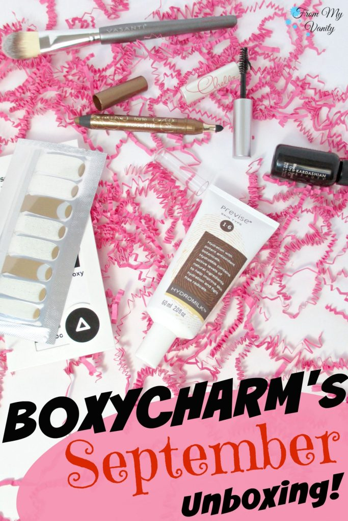 BoxyCharm's September Unboxing // Pin It! // From My Vanity