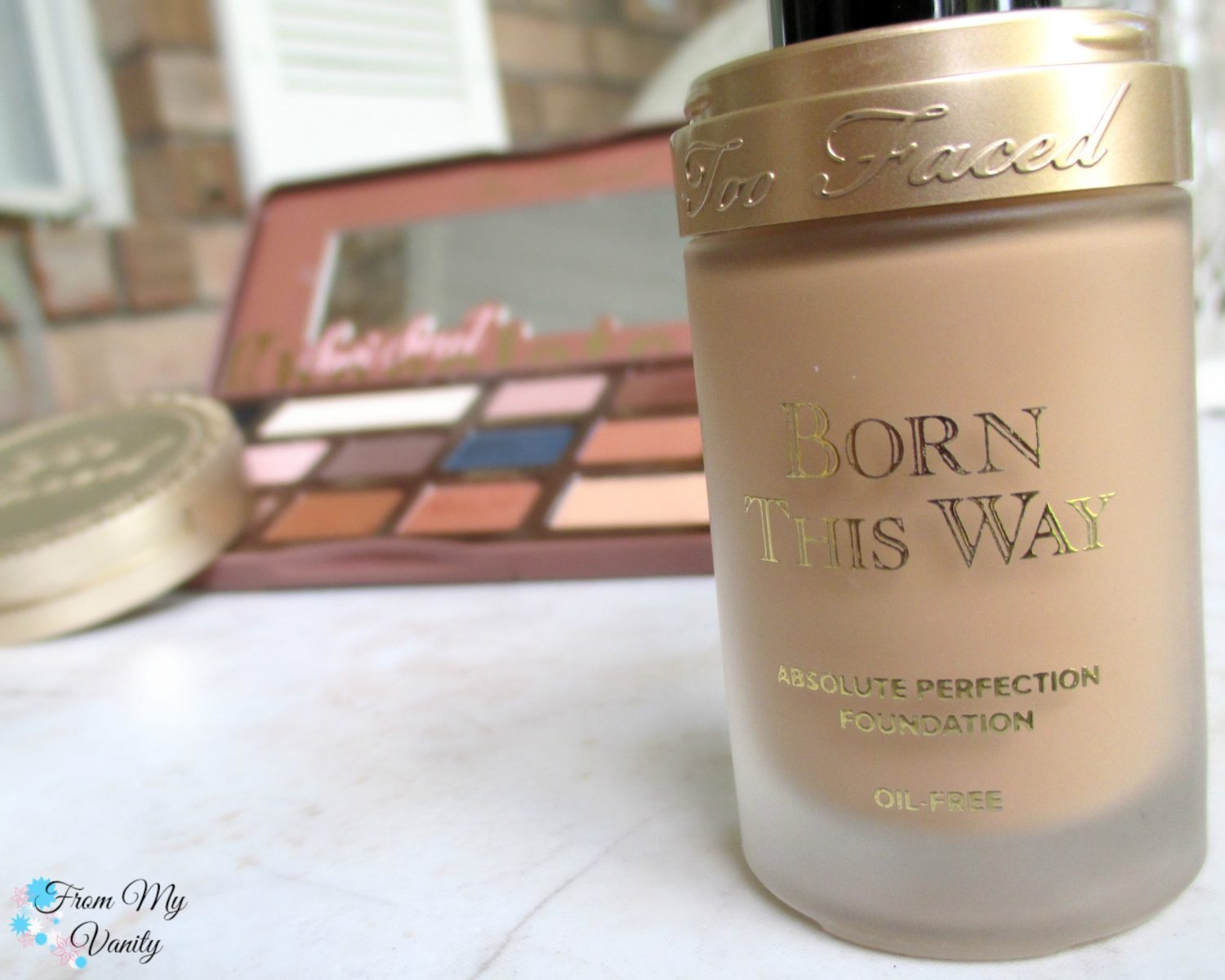 Too Faced Born This Way Foundation // Review // FromMyVanity.com
