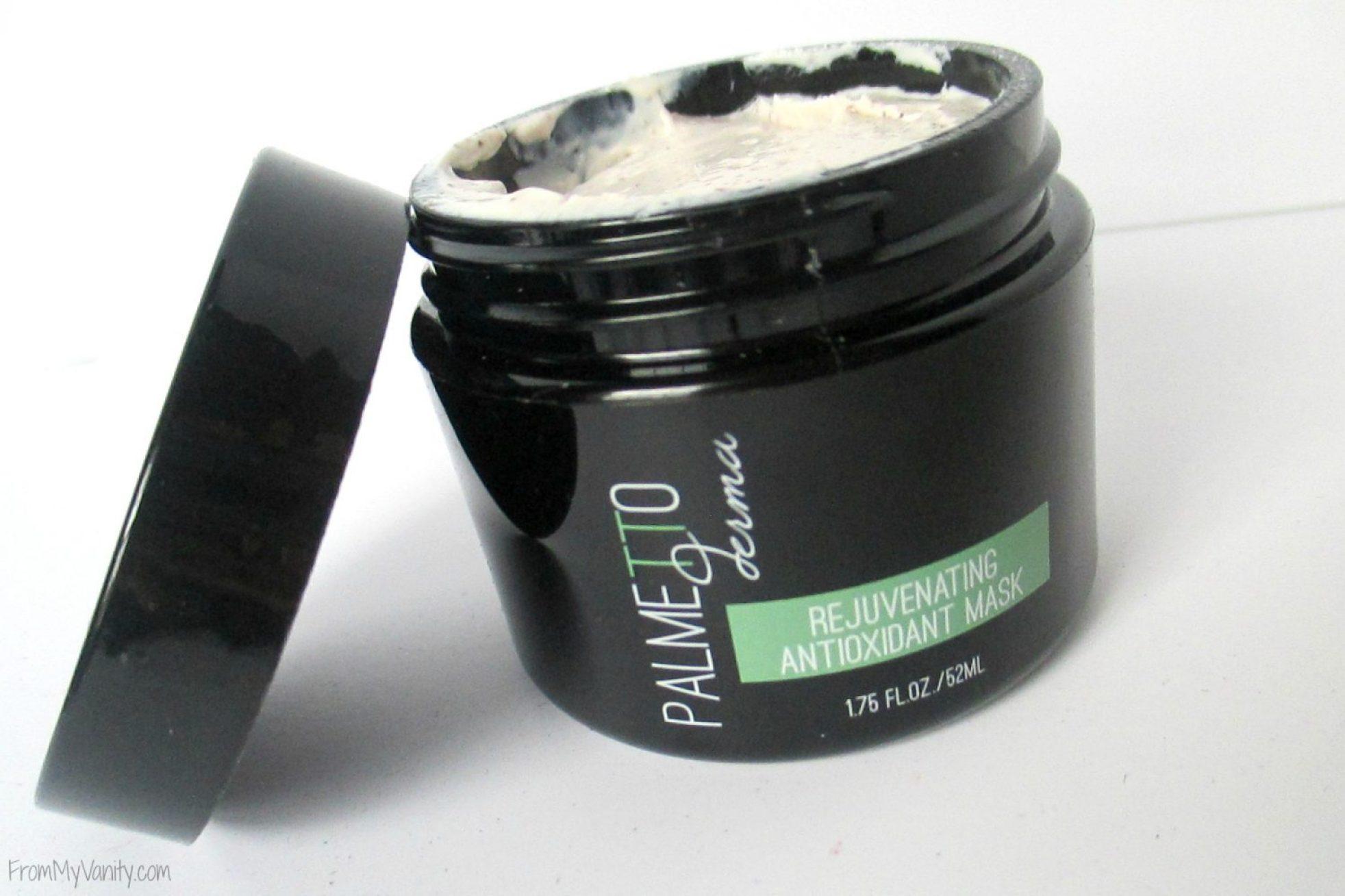 BoxyCharm's October Unboxing & Mini Reviews // Palmetto Derma Rejuvenating Antioxidant Mask // #BoxyCharm FromMyVanity.com