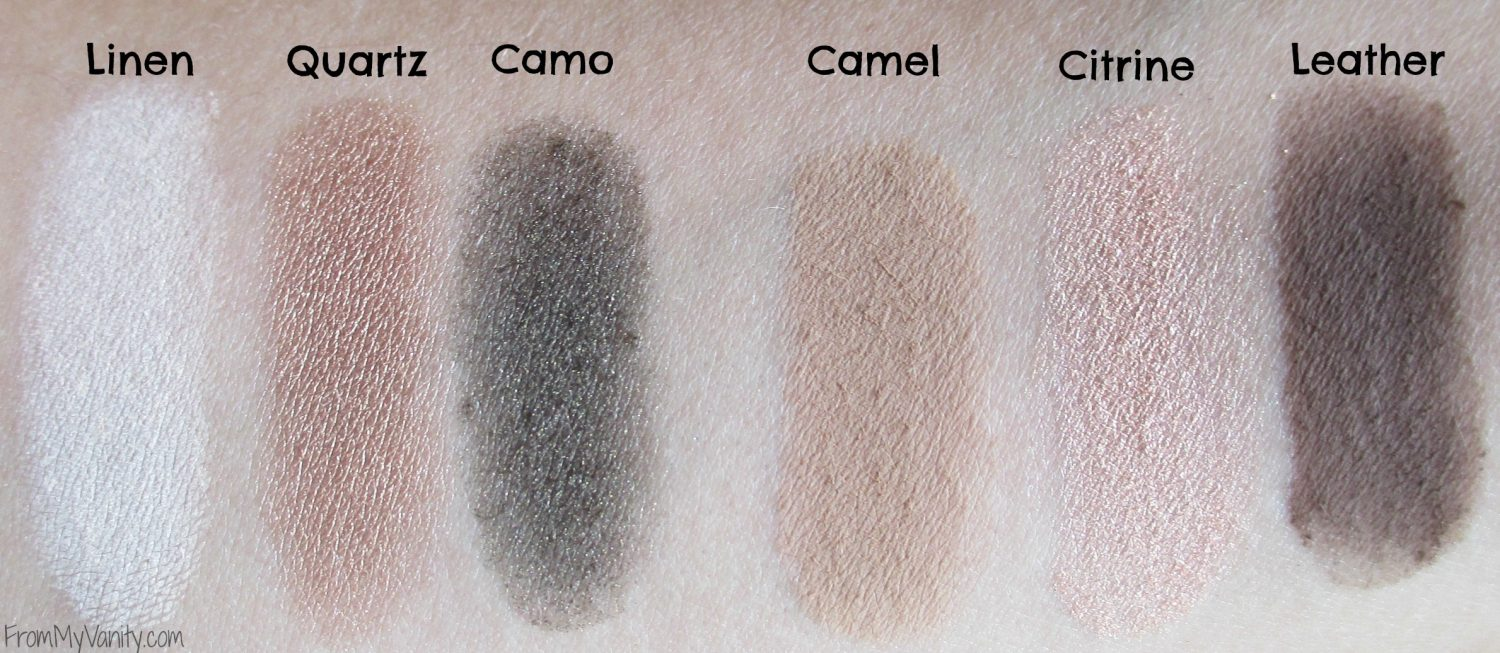 Butter London NEW Shadow Clutch Palette // Shadow Clutch Eyeshadow Swatches // FromMyVanity.com