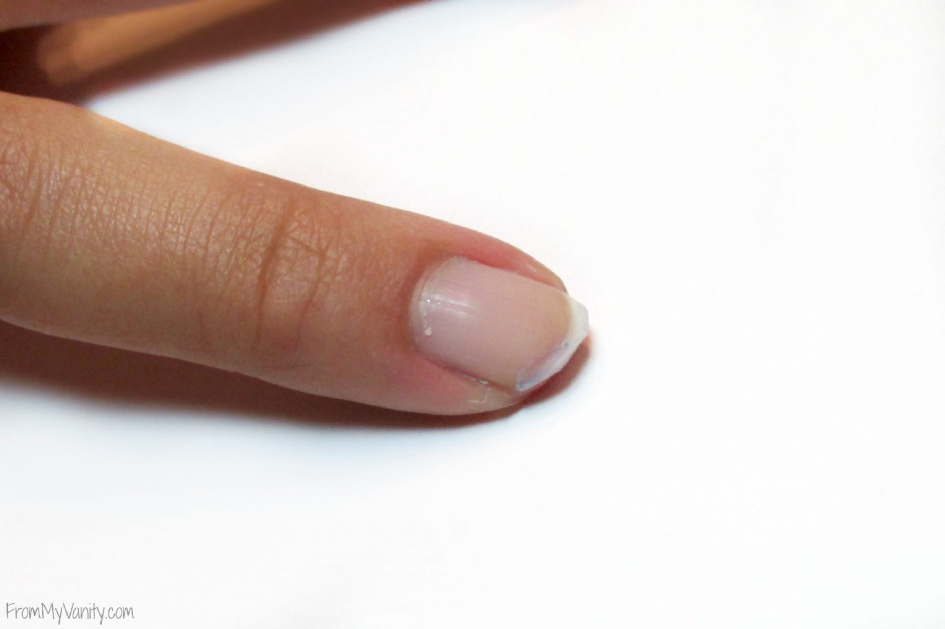 How to Fix a Broken Nail // Step 1: Remove Polish, File // FromMyVanity.com