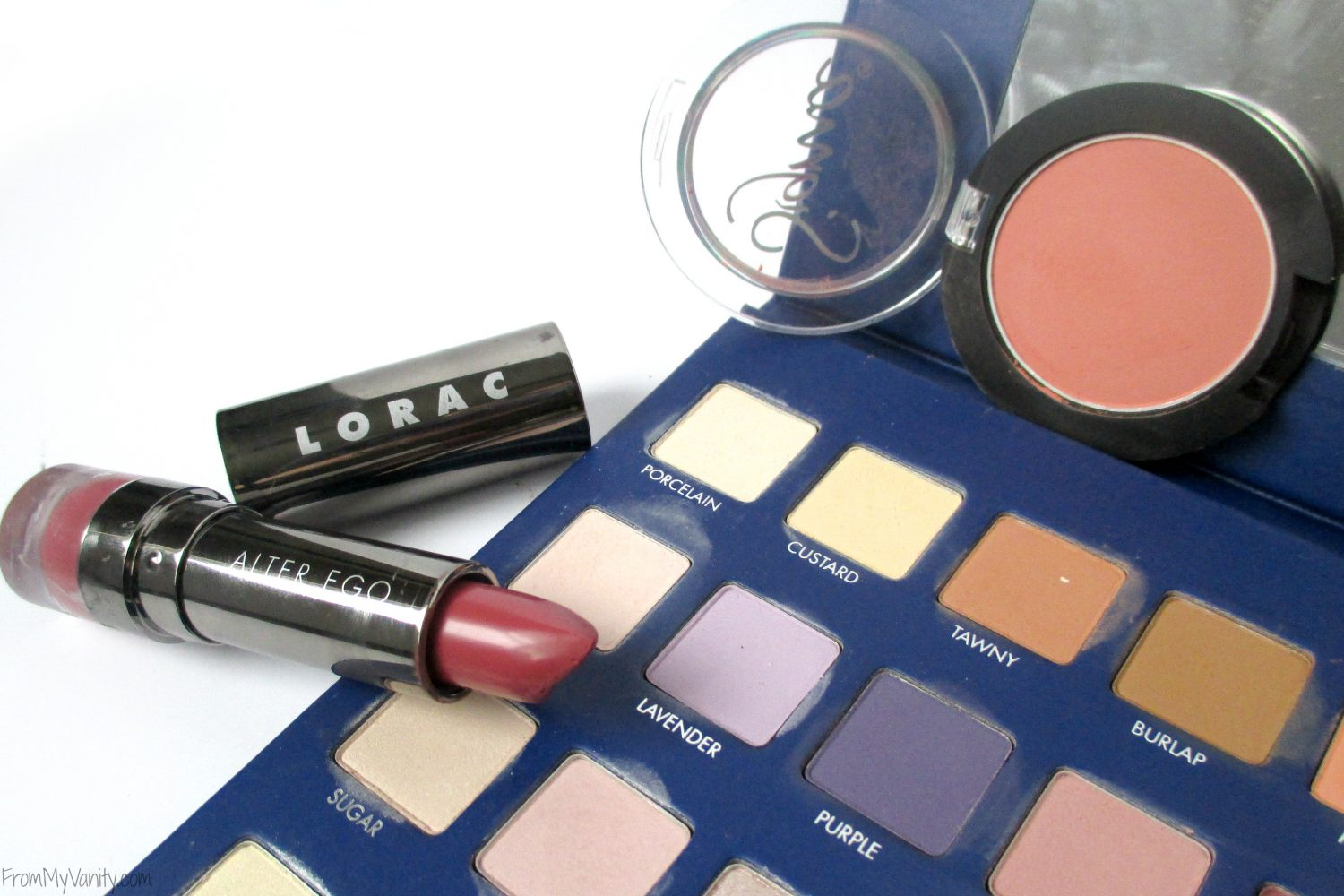 Monthly Beauty Favorites // October 2015 // LORAC Lipstick and Sigma Blush // FromMyVanity.com
